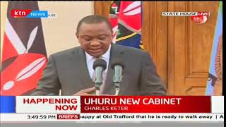 BREAKING: President Uhuru nominates new Cabinet Secretaries