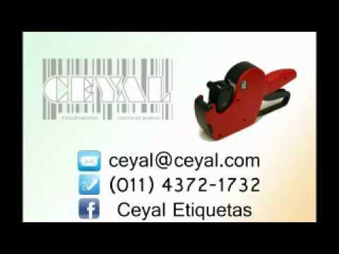 BUSCO ROLLO DE ETIQUETAS FLUO PARA ETIQUETADORA MANUAL  ARGENTINA CEYAL (011 43721732 )