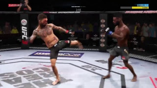 #1 Ranked Player PS4 UFC 3