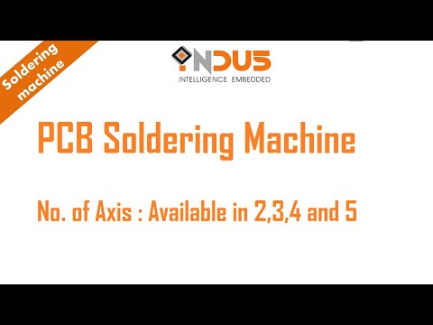 Automatic PCB Soldering System