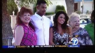Channel 7 Traffic Reporter Alysha Del Valle (5/5/14)
