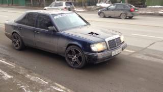 POWER Mercedes W124 TURBO  RUSSIA NOVOSIBIRSK GOLD MASTERS