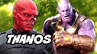 Avengers Infinity War Deleted Scene - Thanos and The Soul Stone Scene Explained