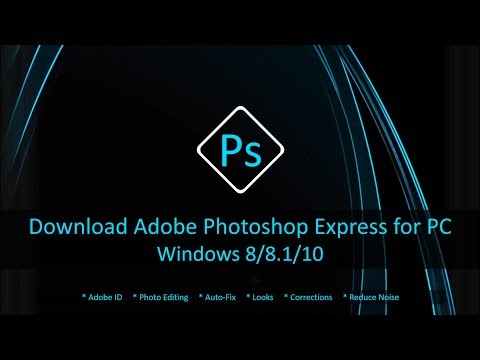 Download Adobe Photoshop Express for Windows