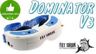 ✔ Fatshark Dominator V3 - FPV Очки Для Профи! Banggood