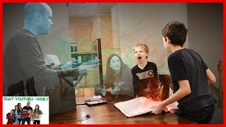 We Made Our Parents DiSAPPEAR! Magic Spell Book Episode 3 / That YouTub3 Family I Family Channel