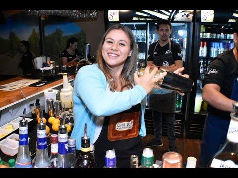 Bartender Uruguaya de visita en Chile
