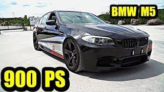 Wolf Im Schafspelz   BMW M5 F10 Mit 900 PS Von HPT !!!