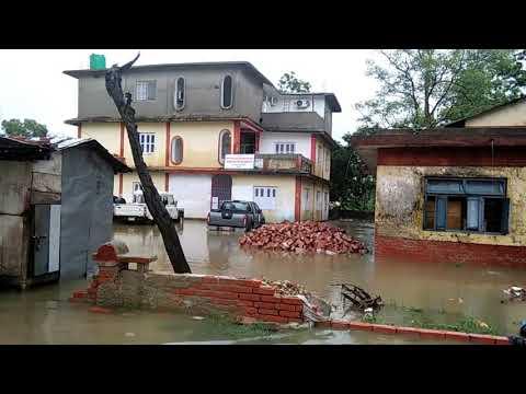 नेपालमे बाढका कहर मेयर की खुली पोल flood in Janakpur