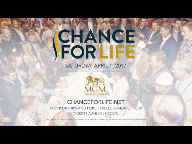 Chance For Life 2017 Save The Date