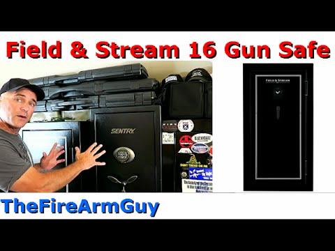 Field & Stream 16 Gun Fire Safe – TheFireArmGuy