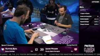 Pro Tour Eldritch Moon Round 7 (Standard): Olivier Ruel vs. Jacob Wilson