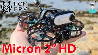 "HOMFPV Micron 2"" Cinewhoop - Setup, Review & Flight Footage"