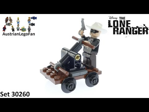 Vidéo LEGO The Lone Ranger 30260 : Lone Ranger's Pump Car (Polybag)
