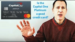 Capital One Platinum Mastercard Review - Starter Credit Card
