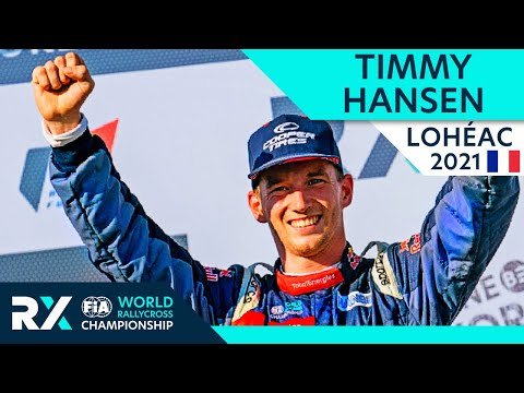 トミー・ハンセンが優勝 電動ラリークロス フランス( エアロック)2021年 RXクラスのフィナルハイライト動画