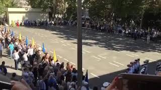Марш курсантов первого курса Одесской морской академии 2018 г.