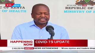 CS Kagwe: Any person visiting a Supermarket and Open-air market should wear masks