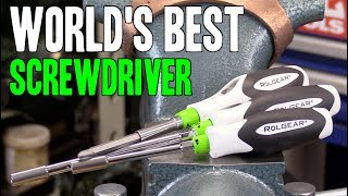 WORLD'S BEST SCREWDRIVER!!  Rolgear 15-in-1 & bit drivers!  MADE IN CANADA