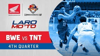 Blackwater vs. TNT – Q4 | PBA Commissioner's Cup 2018