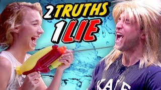 THE TRUTH ABOUT COURTNEY FREAKING MILLER - 2 TRUTHS, 1 LIE CHALLENGE