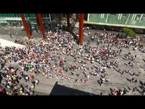 Waka Waka Biggest flashmob in the Netherlands