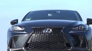 On the road: 2017 Lexus IS turbo