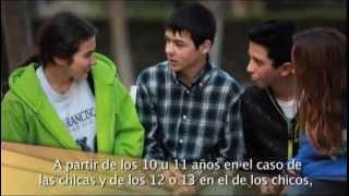 Adolescencia: cambios en los chicos y chicas.