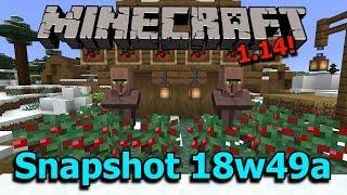 Minecraft 1.14 Snapshot 18w49a- Berry Bushes, Snowy Villages, Raid Changes!