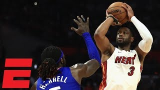 Wade shows out in 1,000th career game as Heat top Clippers   NBA Highlights