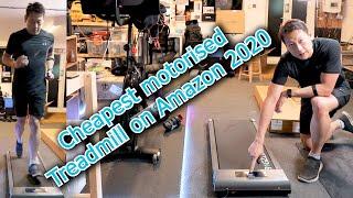 Bigzzia Motorised Under Desk Treadmill review by Benson Chik Cheapest treadmill on Amazon 2020