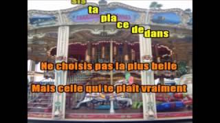 CHRISTOPHE MAE -  MARCEL -  KARAOKE AVEC VOIX