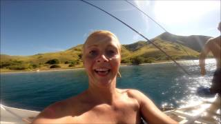 Lombok Til Komodo I Båd - En Uforglemmelig Rejse