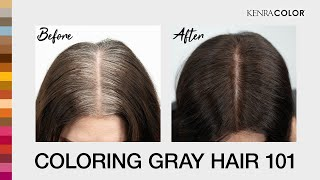 Coloring Gray Hair 101 | Discover Kenra Color | Kenra Professional