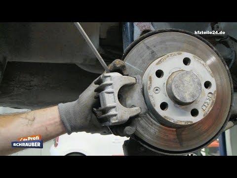 Bremssattel hinten wechseln - VW Golf 4 [TUTORIAL]