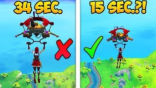 *EPIC* HOW TO LAND FASTER TRICK! - Fortnite Funny Fails and WTF Moments! #367