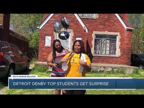WXYZ Senior Salutes: Detroit Denby Top Students