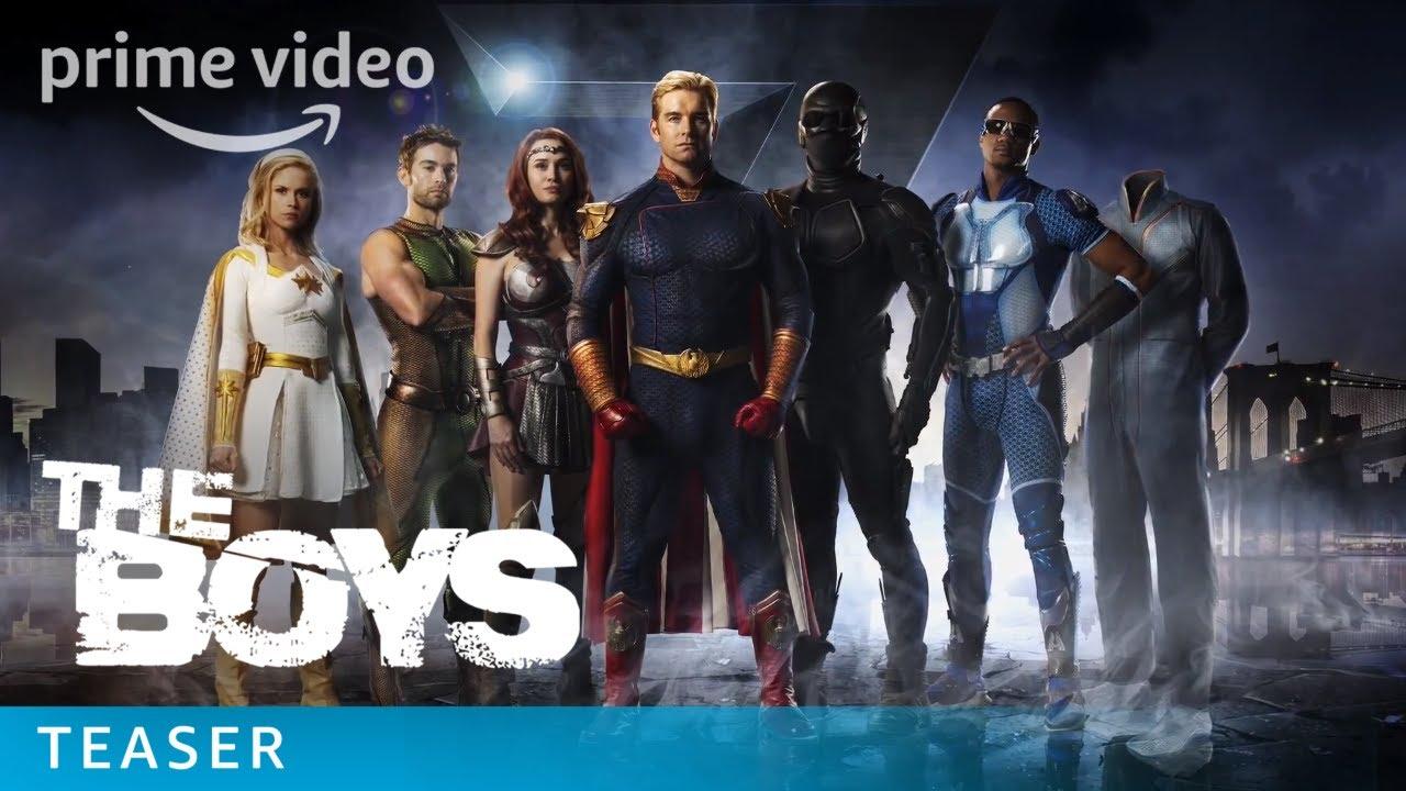 The Boys: Série de heróis da Amazon ganha primeiro trailer