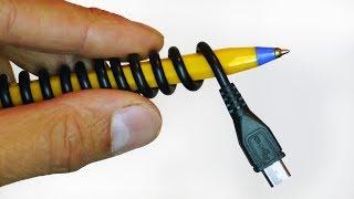 Pen USB Lead  Life Hack - Video Youtube