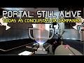 Portal: Still Alive Todas As Conquistas Da Campanha sem