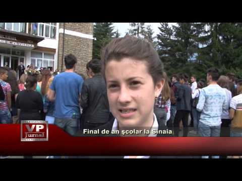 Final de an şcolar la Sinaia