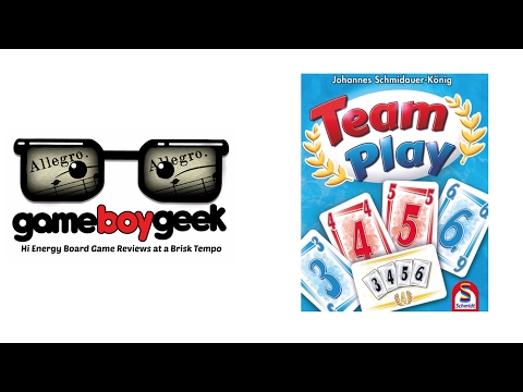 The Game Boy Geek's Allegro (2-min) Review of Team Play