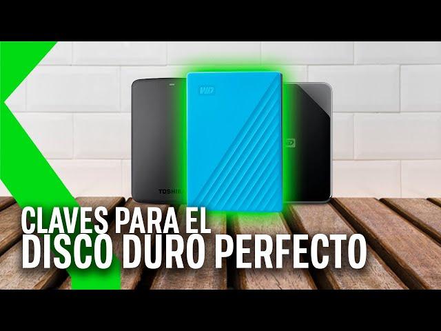 Las CLAVES par ELEGIR el DISCO DURO EXTERNO PERFECTO | Xataka TV