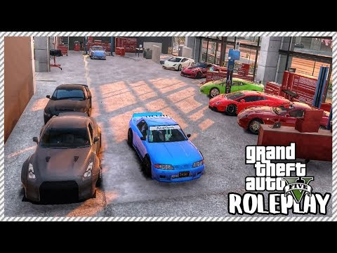 GTA 5 ROLEPLAY - Buying & Selling Cars At My Garage | Ep. 379 Civ