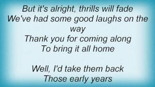 Europe - Bring It All Home Lyrics