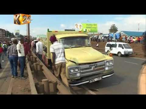 Download Zaidi ya watu saba wameripotiwa kufariki kufuatia ajali Nairobi
