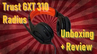 Trust GXT 310   Unboxing und Test (German Deutsch)