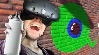 MY GRAFFITI MASTERPIECE | Kingspray VR (HTC Vive Virtual Reality)