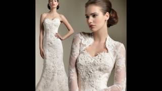 Long Sleeved Lace Wedding Dresses