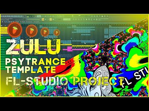 Zulu Psytrance FL-Studio Template [by Axel Walters]